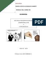 Curso Economia ULADECH 2014 II