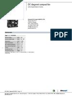 DC Diagonal Fan DV5218N ENU