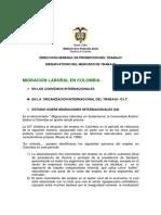 Migracion Laboral en Colombia