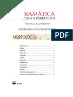 Apostila - Gramática Teoria e Exercícios