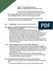Summary of Security Clearance Amdts