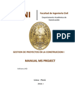 Manual MsProject