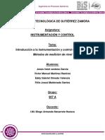 Práctica 1 Instrumentación y Control (AVANZADA)