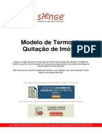 Modelo de Termo de Quitação de Imóvel. (1)