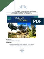Región Tacna Fitoterapia