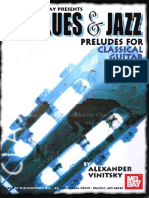 Alexander Vinitsky Blues & Jazz Preludes for Classical Guitar