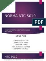 Norma Ntc 5019 Expo Electricidad