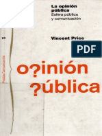 Price, Vincent - La Opinion Publica