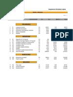 Presupuesto Ing. Sebastian Teran