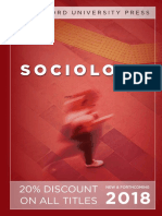 Sociology 2018 Catalog