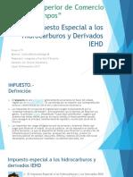 Impuesto Especial Hidrocarburos y Derivados Iehd