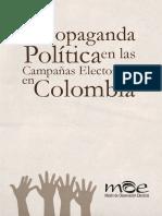 La Propaganda Politica en Colombia