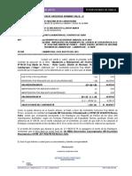 Informe Liq. de Obra