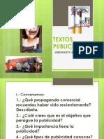 textos publicitarios PUBLLICIDAD