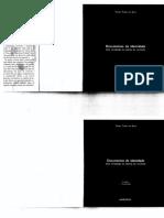 Documentos de Identidade - Tomaz Tadeu da Silva