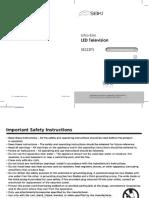 SEIKI Digital Flat Panel Television SE222FS.pdf
