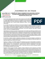 COMISIÓN DE PUEBLOS DESMIENTE DECLARACIONES VERTIDAS EN DIARIO GESTIÓN SOBRE REGULACIÓN DE PLÁSTICOS Y TECNOPOR DE UN SOLO USO