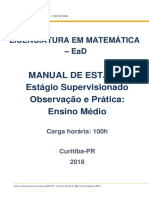 Manual Estagio Obs e Pratica Ensino Medio 2018