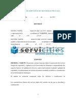 Contrato de Servicios de Seguridad Privada