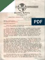 AMORC District Commissioners Bulletin (1936)