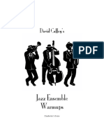 b w Mag Jazz Ensemble Warm Ups Score Parts