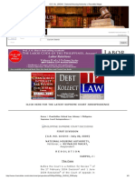 National Housing Authority v. Reynaldo Magat