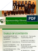 sponsorship directory