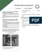 Evaluacion II Bim. Comunicacion