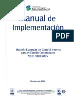 Manual Implementacion Meci