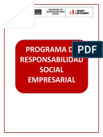 Programa de Responsabilidad Social Empresarial