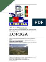 História Da Vila de Loriga _ History of the Town of Loriga _ LORIGA