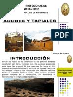 Adobes y Tapiales