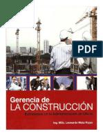 Gerencia en La Construccion