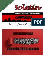 Boletín Compañero Junio 2018