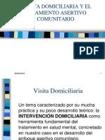 La Visita Domiciliaria en El Marco de Tratamiento