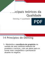 Principais Teóricos Da Qualidade