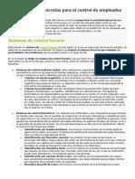 6 Herramientas Concretas Para El Control de Empleados