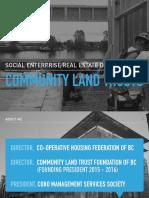 Social Enterprise Real Estate Development