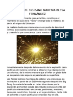 TRABAJO DEL BIG BANG MARENIA BLESA FERNÁNDEZ
