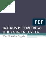 Baterias Psicométricas Utilizadas en Los Tea