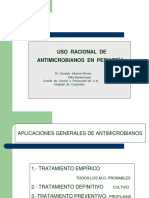 Clase 01 - Antimicrobianos