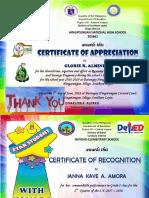 Certificate Academic