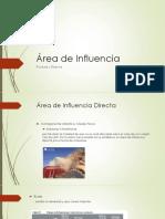 Área de Influencia