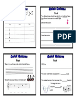Formative Assessment - Year 7 Music