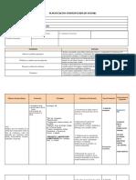 Planificación de Unidad de Ciencias Naturales 8º básico.