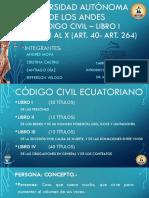 CODIGO CIVIL - LIBRO I - TITULO I AL X (Art. 40 - Art. 264).pptx