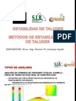 Estabilidad de Taludes-metodos de Estabilizacion
