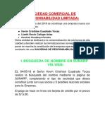 El Cisne Real SRL.docx SOCIEDAD. Definitivo
