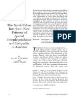 The Rural-Urban Interface