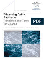 Advancing Cyber Resilience Principles and Tools for Boards